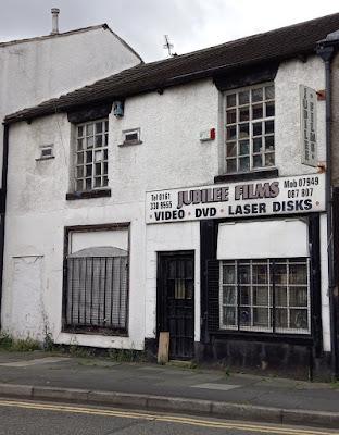 Jubilee Films video shop in Ashton-under-Lyne