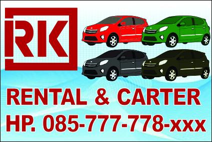 Banner Rental Mobil cdr | Kumpulan Desain Grafis CorelDraw