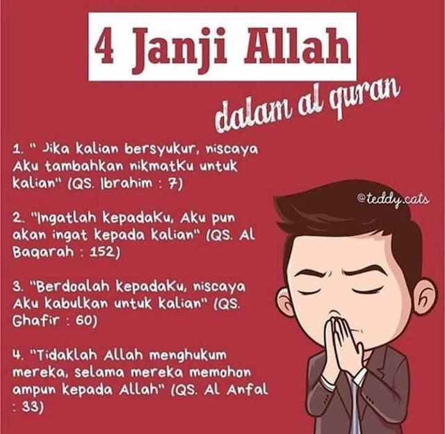 4 Janji Allah dalam al-Quran