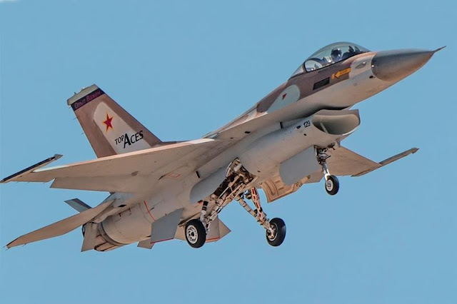 Top Aces F16 first flight