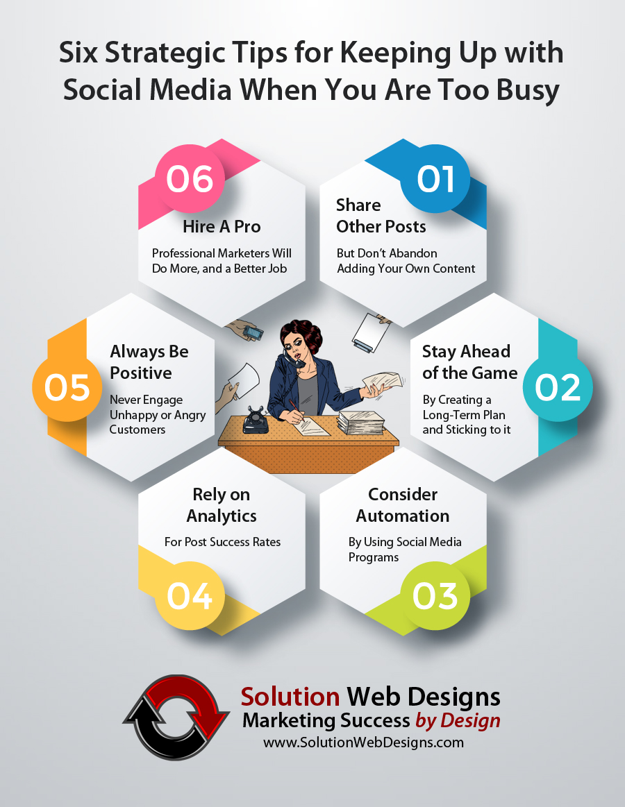 Six Strategic Social Media Tips When You Are Too Busy