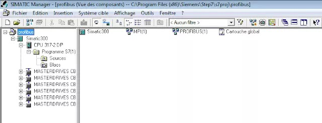 all blocks  PLC and hardward configurartion
