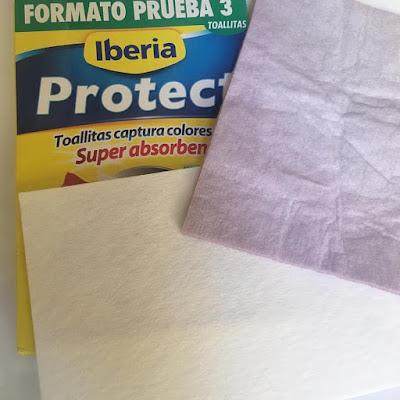 iberia project, toallitas captura color, adios a los desteñidos, youzz,