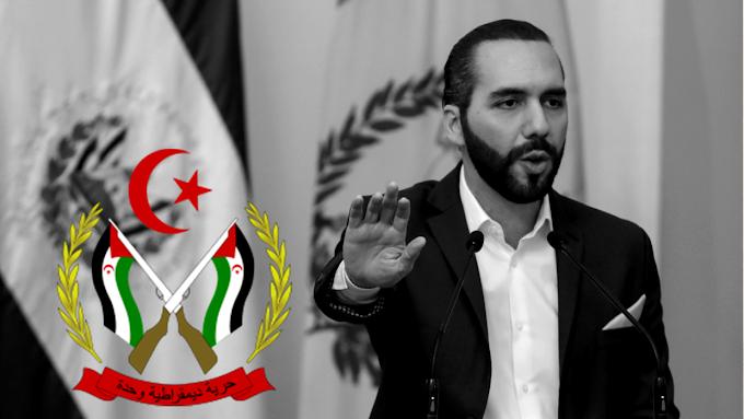 Nayib Bukele: El Presidente salvadoreño que ha destituido a todos los jueces del Tribunal Constitucional, rompió relaciones con la RASD a cambio de inversiones marroquíes que no llegaron.
