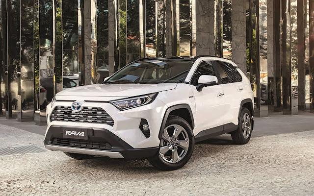 Toyota RAV4 2020 sobe de preço em dezembro - tabela