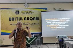 Tingkatkan Spiritualitas Pendidik dan Tendik, SMP Mutual Adakan Baitul Arqom