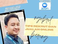 Zoom Meeting Webinar Series Peluang Bisnis FM World Indonesia