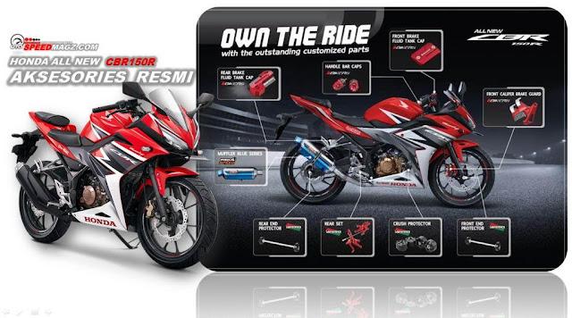 Harga dan aksesories All New Honda CBR 150R