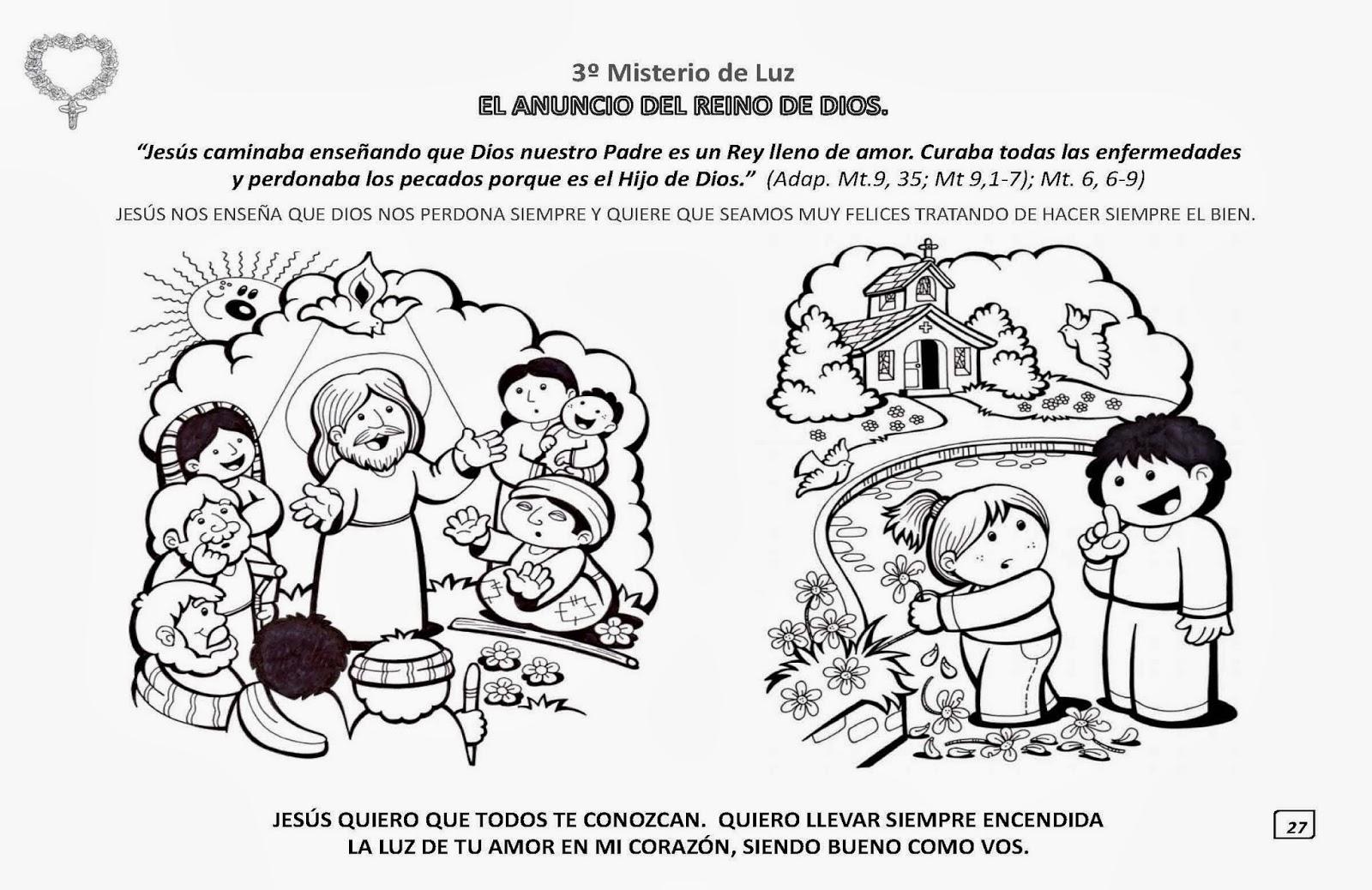 Blog Católico Parroquia Santa María De Baredo Baiona El Santo Rosario