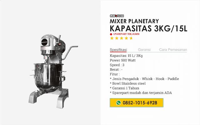 Harga Mixer Roti dan Kue