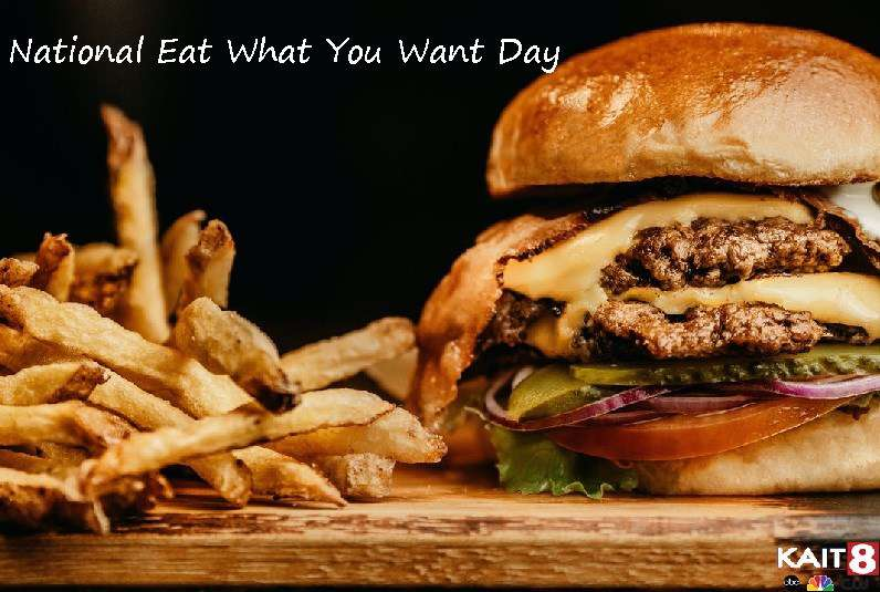 National Eat What You Want Day Wishes Photos