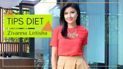 Cara diet Zivanna Letisha