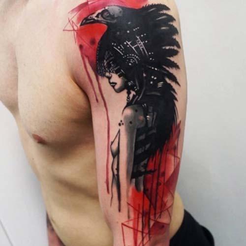 erkek üst kol dövmesi tumblr man upper arm tattoo