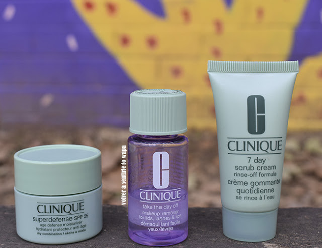 Cuidado Facial de Clinique: desmaquillante, exfoliante y crema superdefense