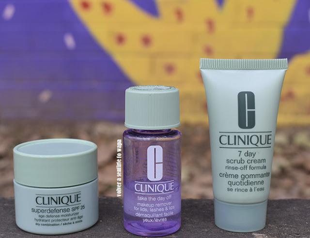 Cuidado Facial de Clinique: desmaquillante, exfoliante y crema superdefense