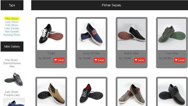 Produk Ardiles Kategori Man Shoes
