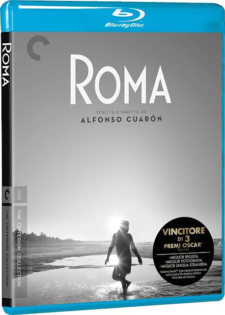Roma Cuaron Blu-Ray