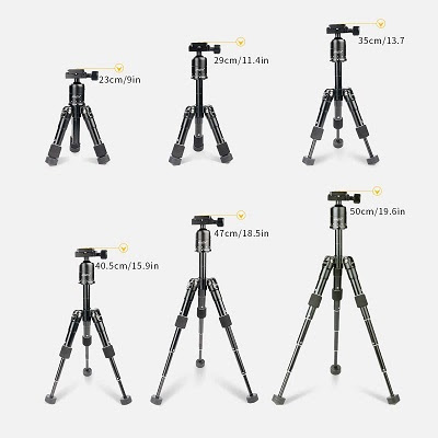 Trípodes-para-cámaras-réflex-robustos