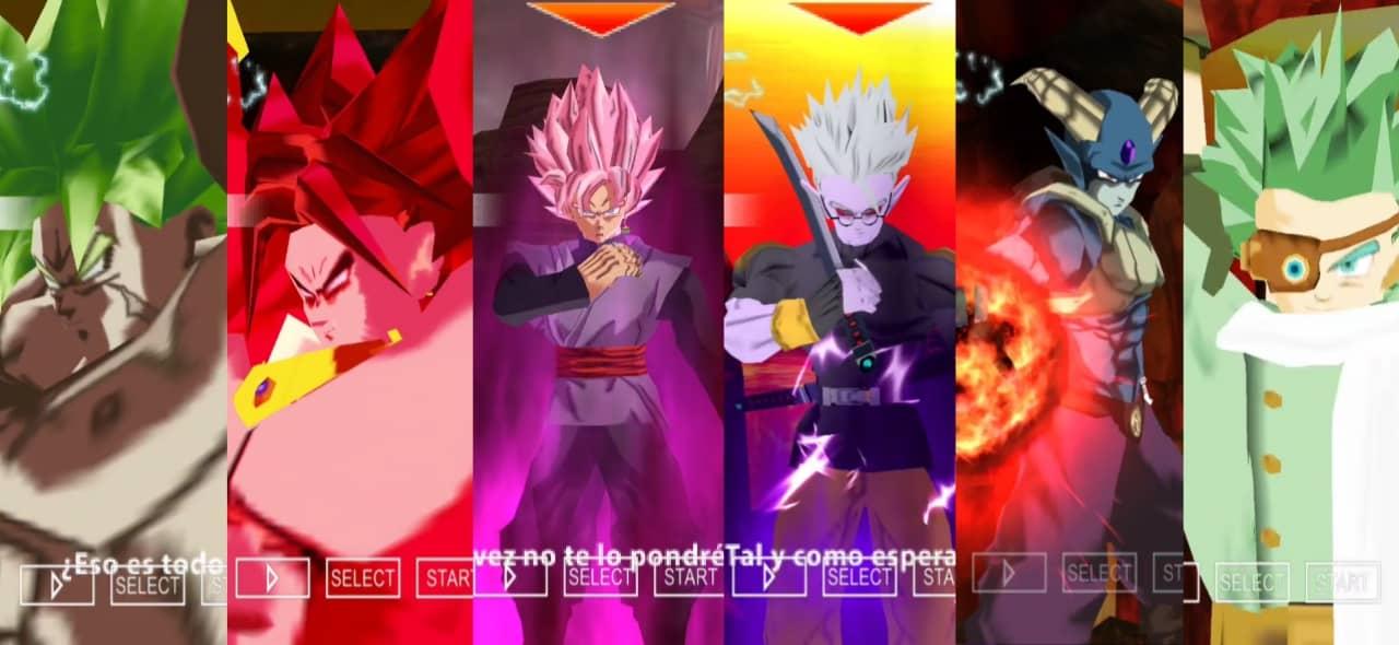 Dragon Ball Heroes DBZ TTT Mod Download