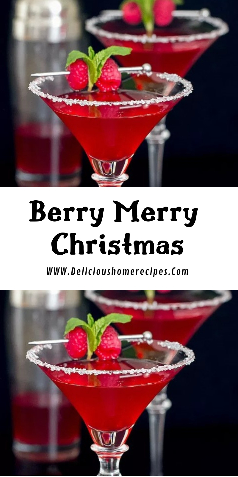 Berry Merry Christmas #christmas #drink
