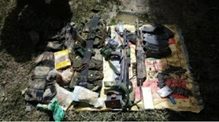 Handwara: Security forces received Chinese Type 56 rifle from the meeting site