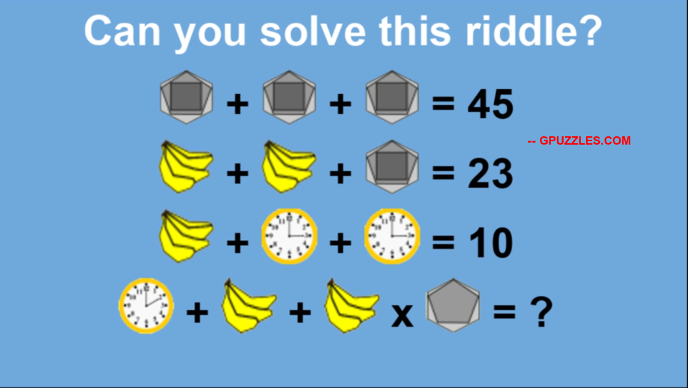 Math Equation Puzzles And Riddles Genius Puzzles