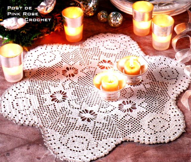 wzory serwet świątecznych