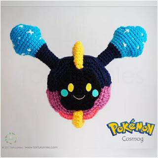 patron amigurumi Pokemon Cosmog tartutumies