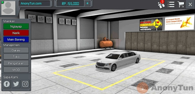 MOD BUSSID Mobil Mercedes Benz s650