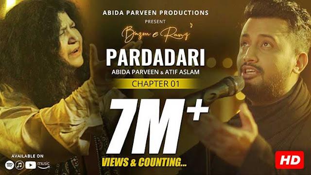 Pardadari Lyrics - Abida Parveen | Atif Aslam