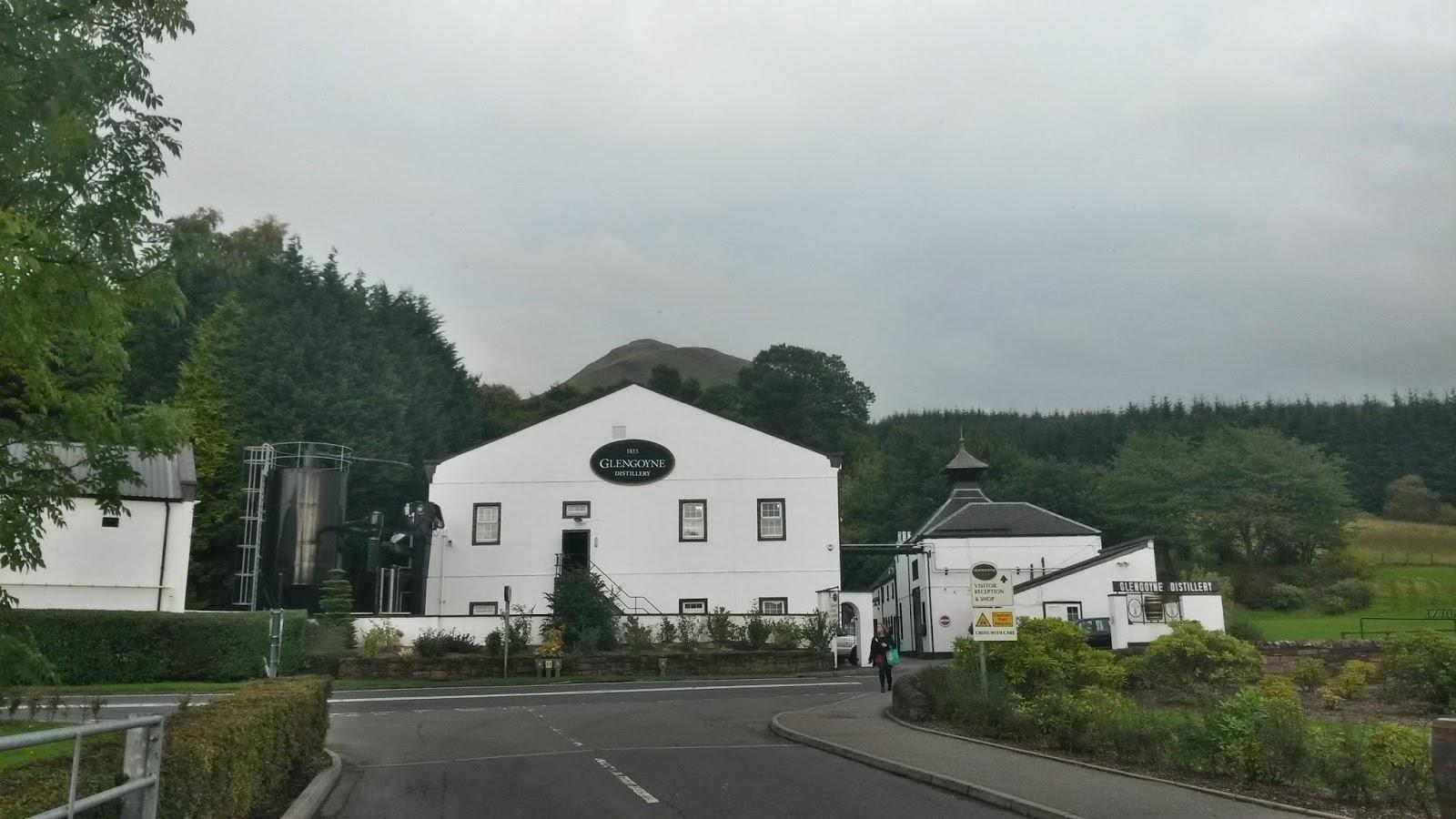 edinburgh scotland iskoçya whisky tour glengoyne britanya