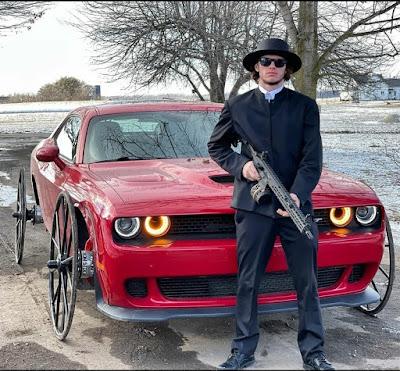 Amisch Mafia Auto - lustige Autobilder