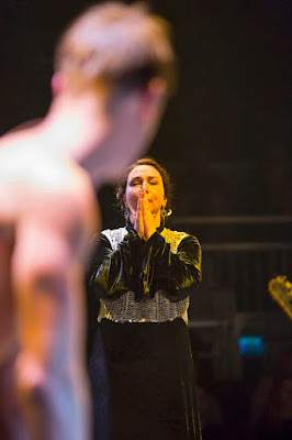 Monteverdi: The Return of Ulysses - Samuel Boden, Christine Rice - Royal Opera at the Roundhouse ((c) ROH & Roundhouse, photo Stephen Cummiskey)