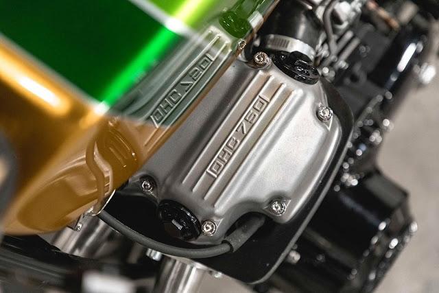 Honda CB750 By Origin8or Custom Motorcycles Hell Kustom