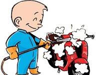Peluang Usaha Cuci Motor Yang Menjanjikan