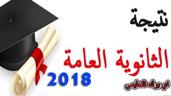 رابط الاستعلام عن نتيجة الثانوية العامة 2018