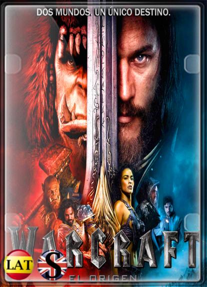 Warcraft: El Primer Encuentro de Dos Mundos (2016) FULL HD 1080P LATINO/INGLES