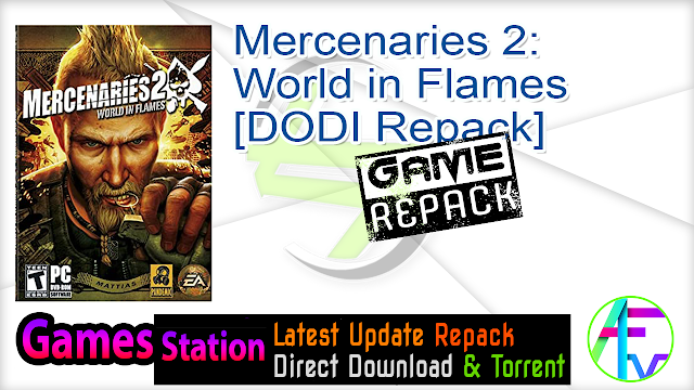 Mercenaries 2 World in Flames – [DODI Repack]