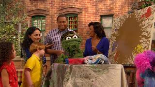Abby Cadabby, Oscar the Grouch, Chris, Maria, Leela, Sesame Street Episode 4316 Finishing the Splat season 43