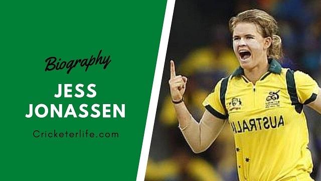 Jess Jonassen biography, age, height, family, stats, etc.