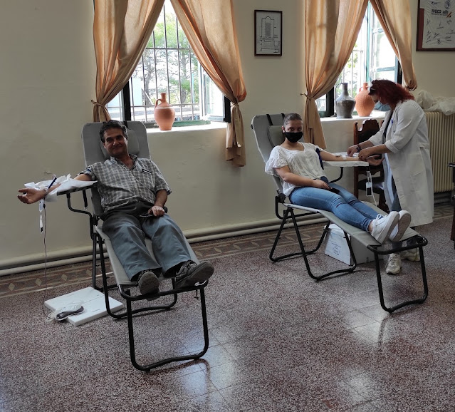 Με επιτυχία ολοκληρώθηκε  η Εθελοντική Αιμοδοσία του Μουσικού Συλλόγου Ερμιόνης
