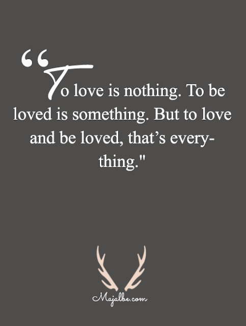 Love Is Giving Love Quotes