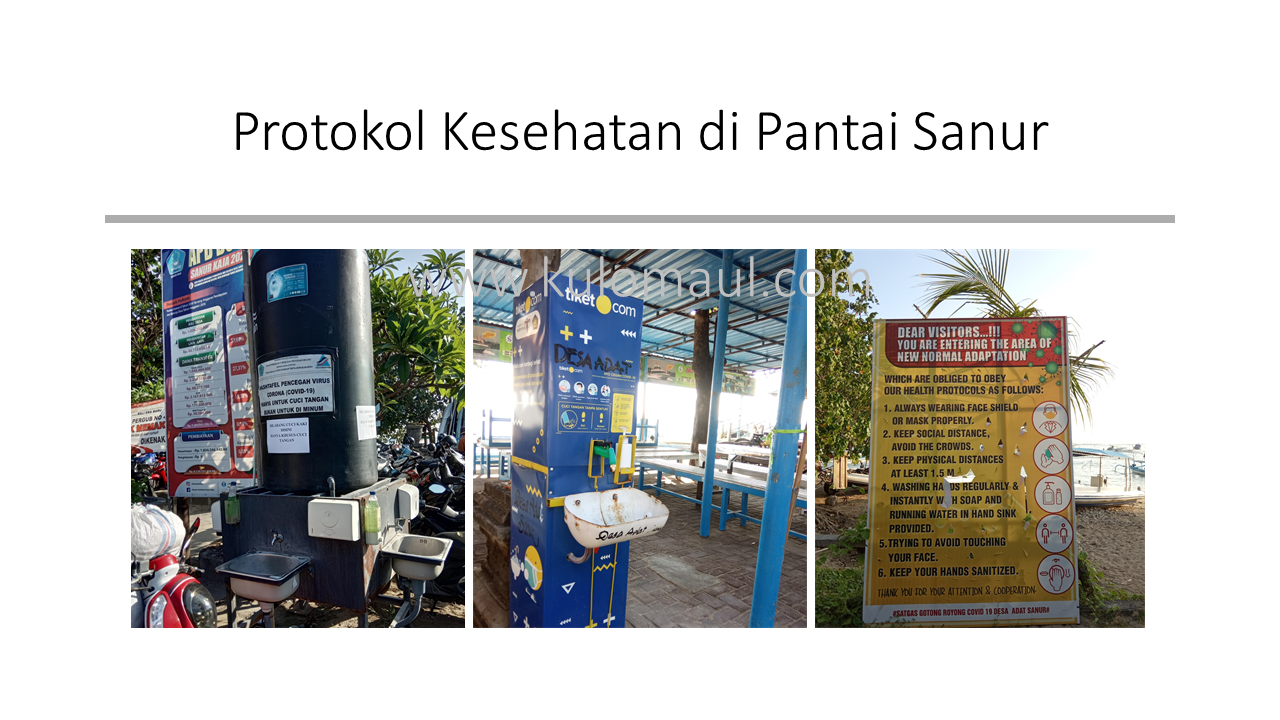 Protokol Kesehatan Pantai Sanur