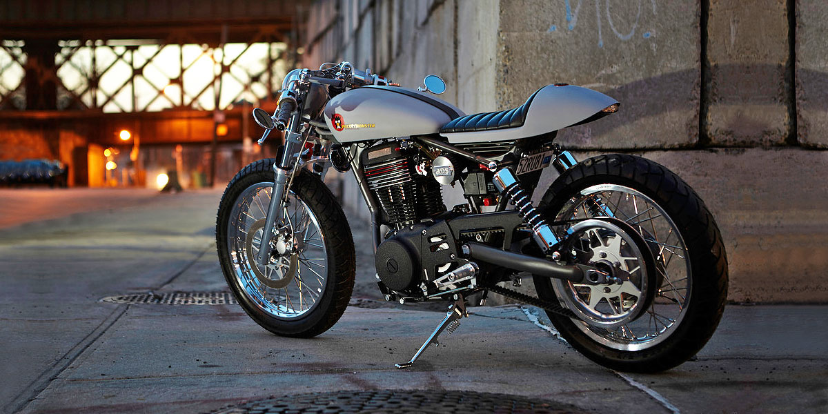 Suzuki LS650 Savage Custom Cafe Racer ryca motors