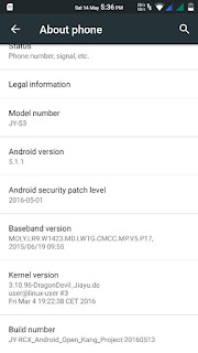 AOKP ROM ported to Flare X