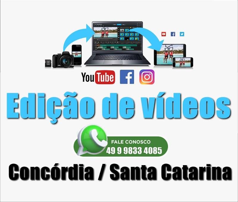 Edição de Videos e Filmagens.