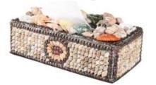 ilustrasi kerajinan dari cangkang kerang