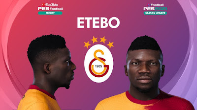 PES 2021 Faces Oghenekaro Etebo by PES Football Turkey
