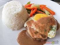 Eddie's Kitchen, Italian Cuisine, American Cuisine, Antipolo, salisbury steak rice meal