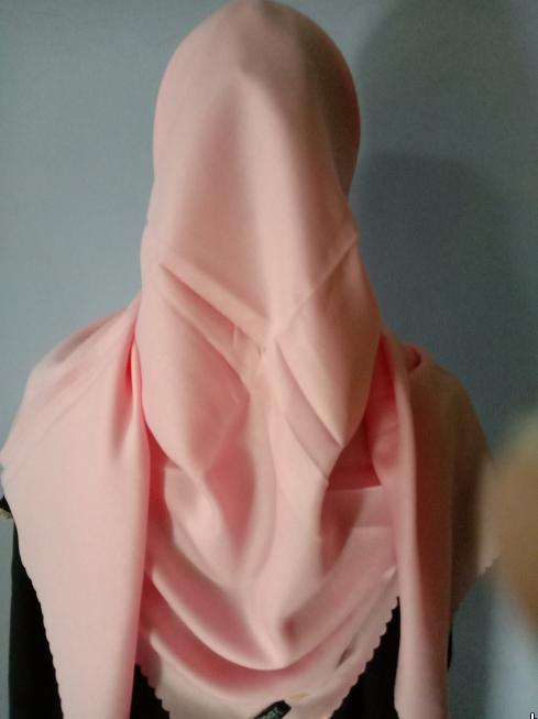 Kerudung Shinar Glamour Sonic Rose Pink